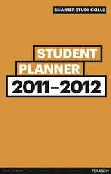 Smarter Student Planner 2011-2012 (Smarter Study Skills), Paperback Book, By: Dr Jonathan Weyers