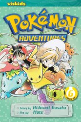Pokemon Adventures (Red and Blue), Vol. 6, Paperback Book, By: Hidenori Kusaka