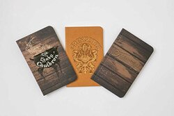 Harry Potter: Diagon Alley Pocket Journal Collection: Set of 3, Paperback Book, By: Insight Editions
