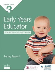 CACHE Level 3 Early Years Educator for the Work-Based Learner, Paperback Book, By: Tassoni Penny
