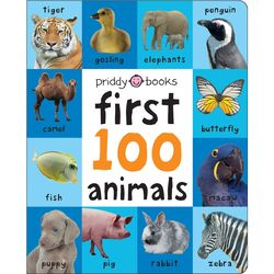 First 100 Animals, Board Book, By: Roger Priddy