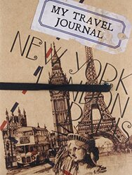My Travel Journal, Hardcover Book, By: Parragon Book Service Ltd