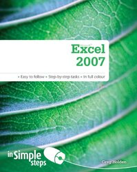 Microsoft Excel 2007 In Simple Steps, Paperback Book, By: Greg Holden