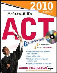 McGraw-Hill's ACT with CD-ROM, 2010 Edition (McGraw-Hill's ACT (W/CD)), Paperback, By: Steven Dulan