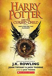 Harry Potter and the Cursed Child, Parts One and Two: The Official Playscript of the Original West, Paperback Book, By: J.K. Rowling