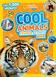 National Geographic Kids Cool Animals Sticker Activity Book: Over 1, 000 stickers!, Paperback Book, By: National Geographic Kids