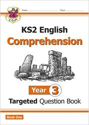 KS2 English Targeted Question Book: Year 3 Comprehension - Book 1: Year 3: Comprehension, Paperback Book, By: CGP Books