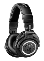 Audio Technica ATH-M50XBT Wireless Over-Ear Portable Headphones, Black