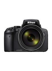 Nikon Coolpix P900 Point & Shoot Camera, 16 MP, Black