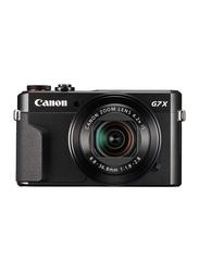 Canon PowerShot G7 X Mark II Point & Shoot Camera, 20.1 MP, Black