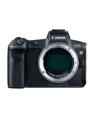 Canon EOS R Mirrorless Digital Camera Body with Mount Adapter EF-EOS R, 30.3 MP, Black