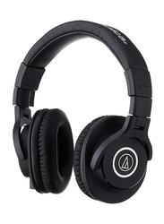 Audio Technica ATH-M40X Professional 3.5mm Jack Over-Ear Headphones, Black