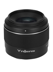 Yongnuo YN50mm F1.8S F1.8 S F/1.8 S Standard Prime E-Mount Lens with Auto Manual Focus AF MF USB for Sony APS-C /APC-C Cameras, Black