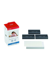 Canon KP-108IN Color Ink and Paper Set for Canon Selphy CP Series, 100 x 148mm, 108 Sheets, White