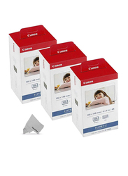 Canon KP-108IN Color Ink and Paper Set for Canon Selphy CP Series, 100 x 148mm, 324 Sheets, White