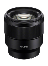 Sony 85mm f/1.8-22 Medium Telephoto Fixed Prime Lens for Sony E Mount, Black