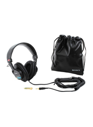Sony MDR-7506 Professional Large Diaphragm Over-Ear Noise Cancelling Stereo Headphones, Black