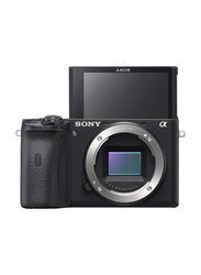 Sony Alpha A6600 Digital Mirrorless Camera, 24.2 MP, ILCE-6600, Black