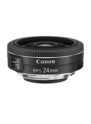 Canon EF-S 24mm f/2.8 STM Lens for Canon EOS DSLR Cameras, Black