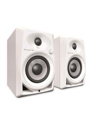 Pioneer DJ Monitors, DM-40-W, White