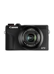 Canon PowerShot G7 X Mark III Point & Shoot Digital Camera with 8.8-36.8mm Lens, 20.1 MP, Black