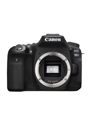 Canon 90D Digital DSLR Camera Body Only, 32.5 MP, 3616C002, Black