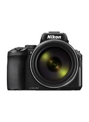 Nikon Coolpix P950 Digital Point & Shoot Camera, 83X Optical Zoom, 16 MP, Black