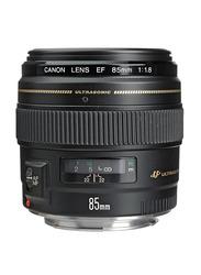 Canon EF 85mm f/1.8 USM Short-Telephoto Lens for All Canon DSLR Cameras, Black
