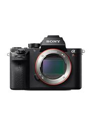 Sony Alpha a7R II Full-Frame Mirrorless Camera, 42.4 MP, Black