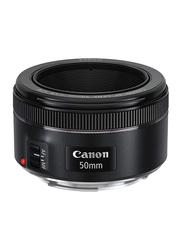 Canon EF 50mm f/1.8 STM Lens for All Canon DSLR Cameras, Black