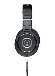 Audio Technica ATH-M40X Professional Over-Ear Headphones, Black