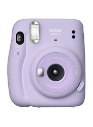 Fujifilm Instax Mini 11 Instant Film Camera with 60mm f/12.7 Lens, Lilac Purple