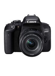 Canon EOS 800D DSLR Camera with EF-S 18-55mm F IS STM Lens, 24.2 MP, 1895C008AA, Black