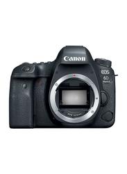 Canon EOS 6D Mark II DSLR Camera Body, 26.2 MP, Black