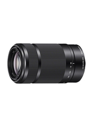 Sony E 55-210mm f/4.5-6.3 OSS Lens for Sony E-Mount Camera, Black