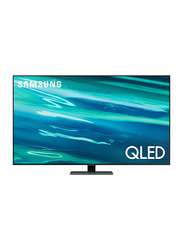 Samsung 55-Inch 4K Ultra HD QLED Smart TV, Q80A, Black