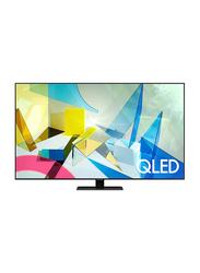 Samsung 55-inch Q80T Flat 4K Ultra HD QLED Smart TV, QA55Q80TAUXZN, Black
