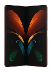Samsung Galaxy Z Fold 2 256GB Mystic Bronze, 12GB RAM, 5G, Dual Sim Smartphone