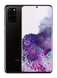 Samsung Galaxy S20 Plus 128GB Cosmic Black, 8GB RAM, 4G LTE, Dual Sim Smartphone, UAE Version