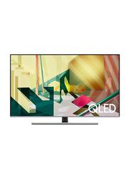 Samsung 65-inch Q70T Flat 4K Ultra HD QLED Smart TV, QA65Q70TAUXZN, Black