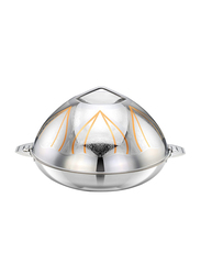 Bohara 6 Ltr Salimah Stainless Steel Hotpot with Lid, 9808/60/GD, Gold