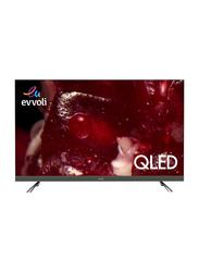 Evvoli 65-Inch 4K Ultra HD QLED Android Smart TV, 65EV350QA, Black
