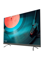 Evvoli 50-inch 4K Ultra HD LED Smart TV, with Digital Netflix and YouTube, 50EV350US, Black