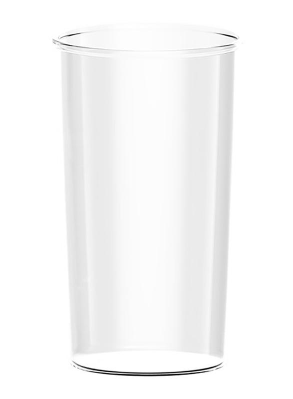Evvoli 4-in-1 Stainless Steel Stem Hand Blender with Chopper and Whisk, 550W, EVKA-HBL4B, Black