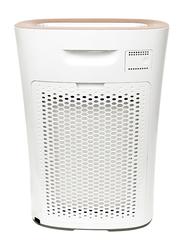 Evvoli 5-Layer Filters Air Purifier with True Hepa Light Control Sensor, EVAP-24W, White