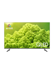Evvoli 50-Inch 4K Ultra HD QLED Android Smart TV, 50EV250QA, Black
