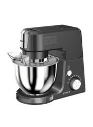 Star-X 2.5L Stainless Steel Mini Electric Food Processor, 1000W, KM1701, Black/Silver
