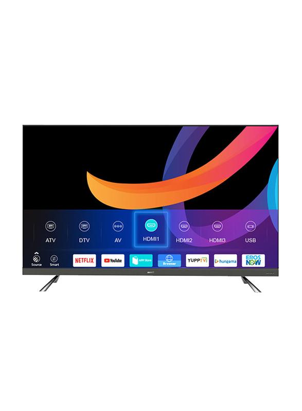 Evvoli 65-inch 4K Ultra HD LED Smart TV, with Digital Netflix and YouTube, 65EV350US, Black