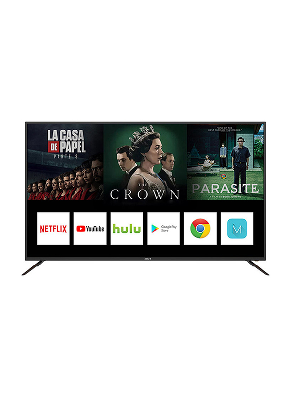 Star X 75-Inch 4K Ultra HD LED Smart TV, with Digital Netflix and YouTube, 75UH680V, Black