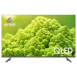 Evvoli 70-inch 4K Ultra HD QLED Android Framless Smart TV, 70EV250QA, Black